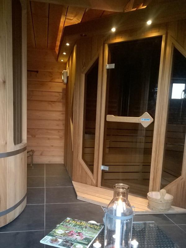 Heerlijk ontspannen in onze sauna
